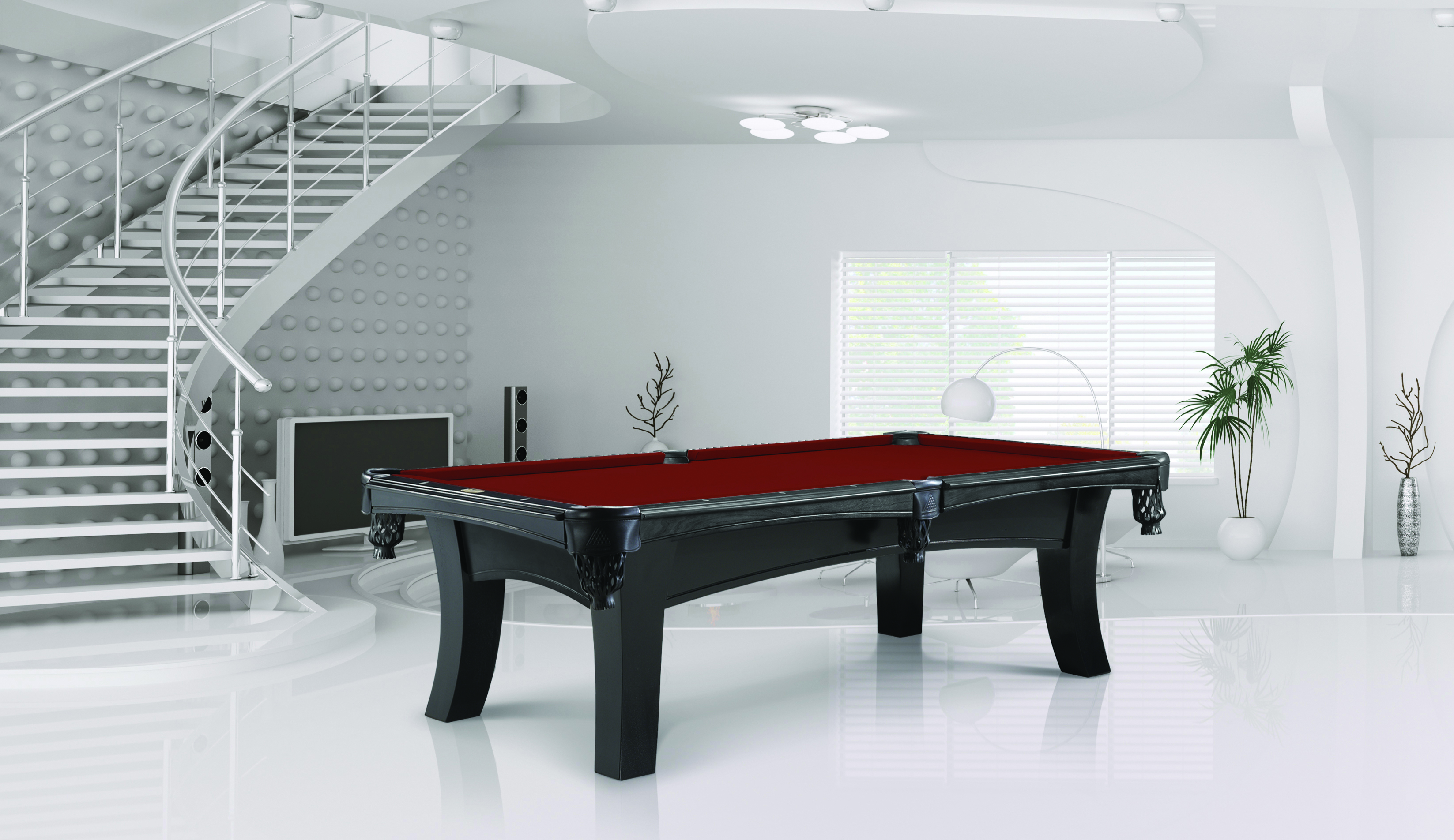 Legacy Ella Aurora Pool Spa And Billiard - How wide is a pool table