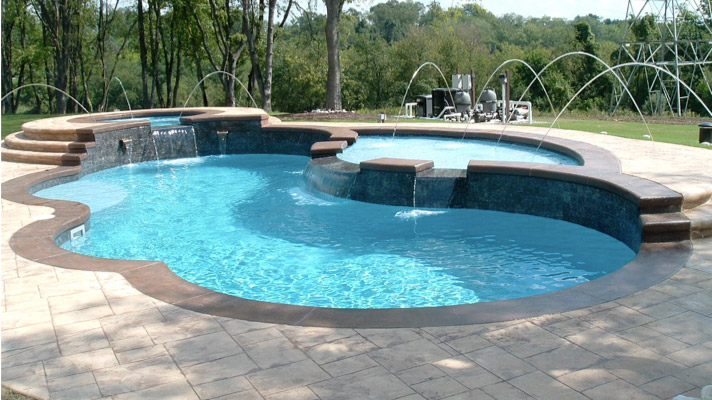 Fiberglass Pools - Aurora Pool, Spa and Billiard