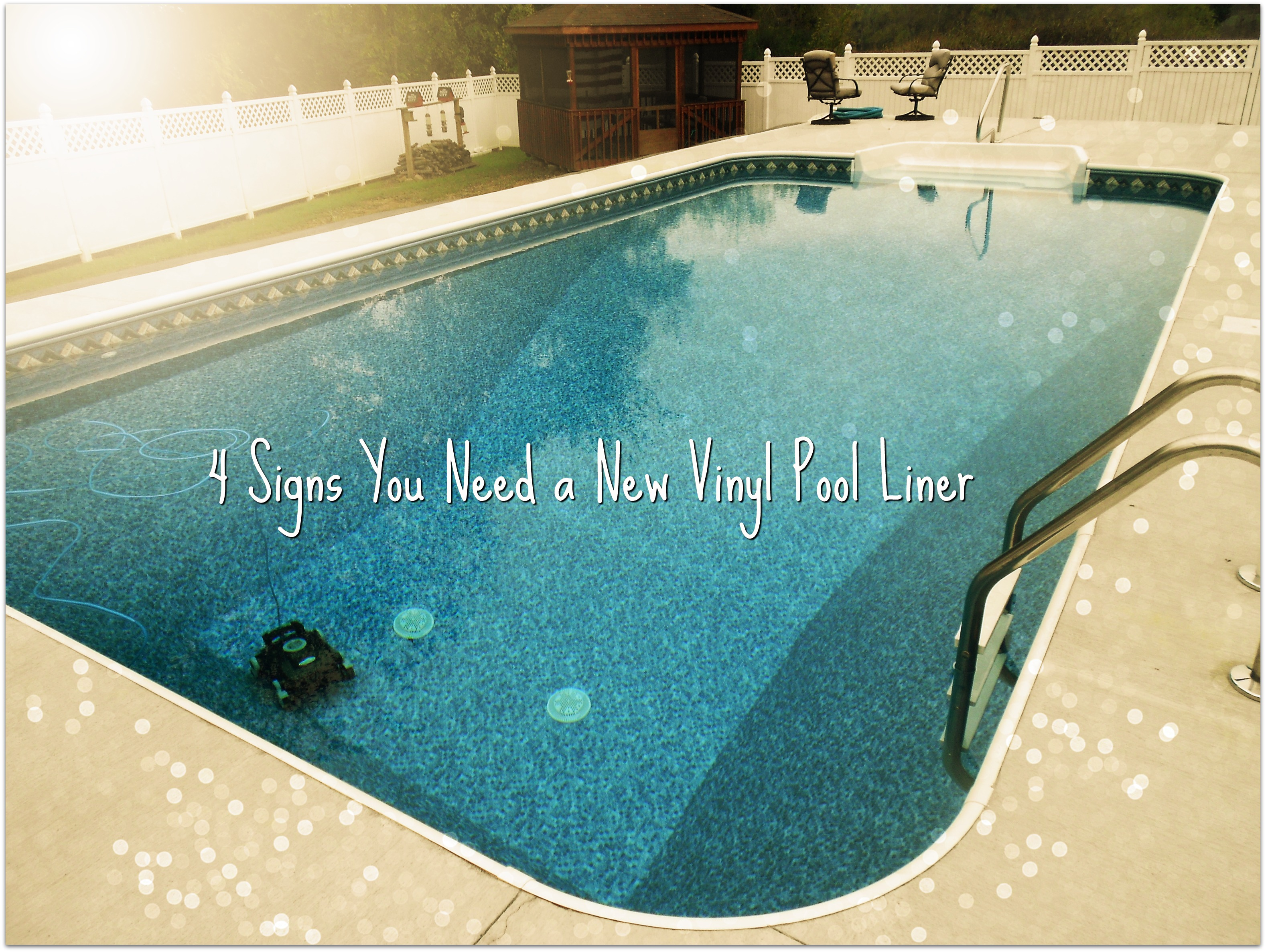4 Signs You Need A New Vinyl Pool Liner Aurora Pools