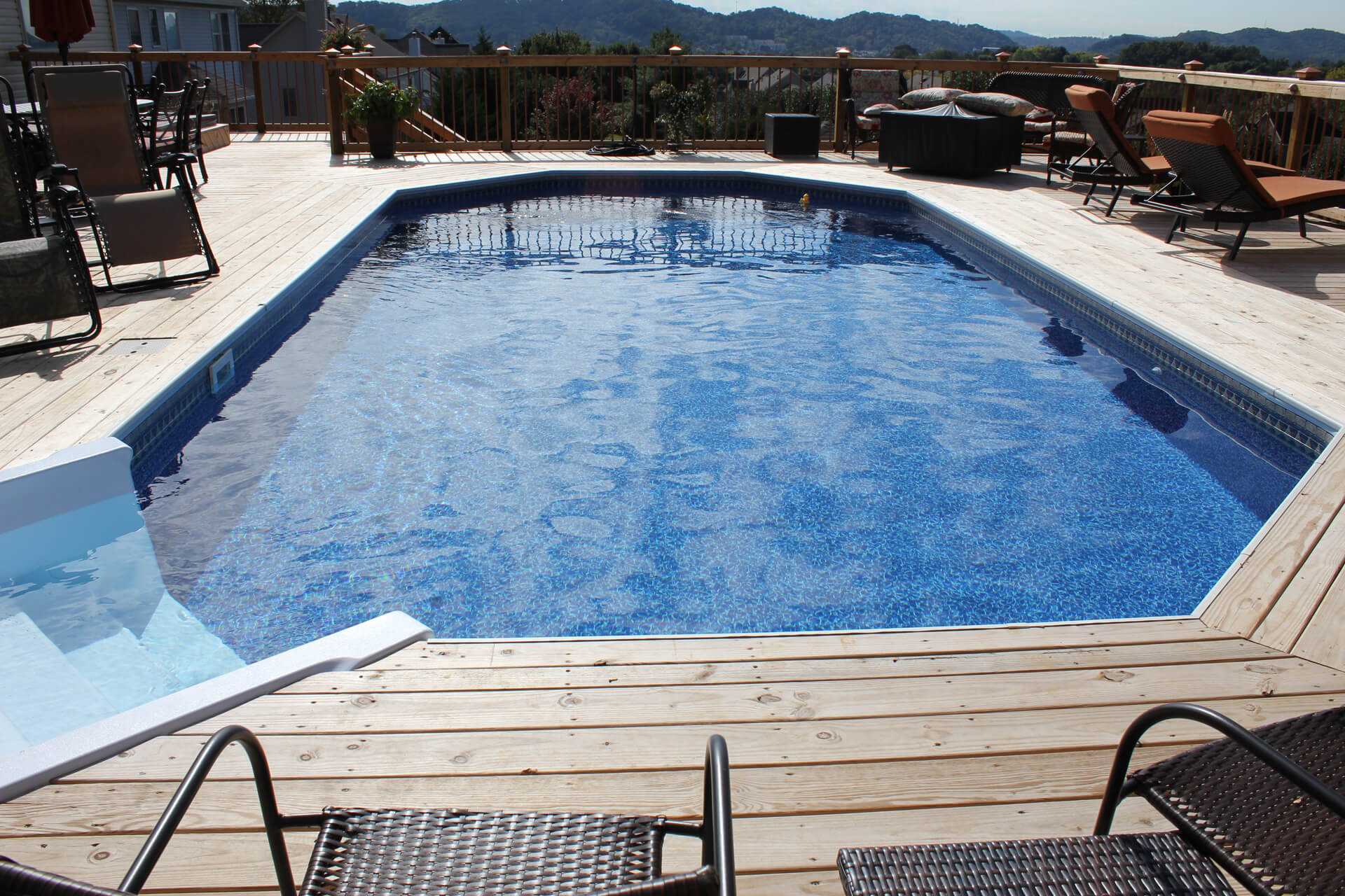 Above Ground Pool With Deck Don39t Have The Space For A